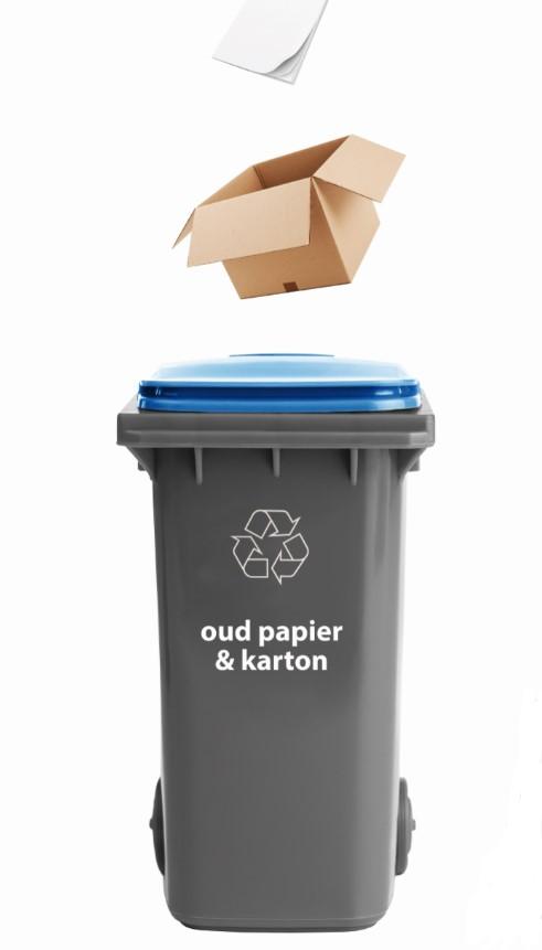 òud papier container