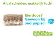 Visual Oud Papier Eierdoos