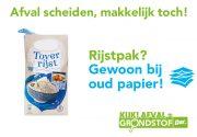 Visual Oud Papier Rijstpak
