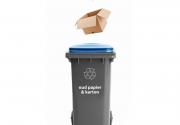 Papier container Facebook